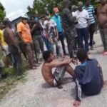 Atrapan dos supuestos atracadores en San Juan, son de los Mojaos
