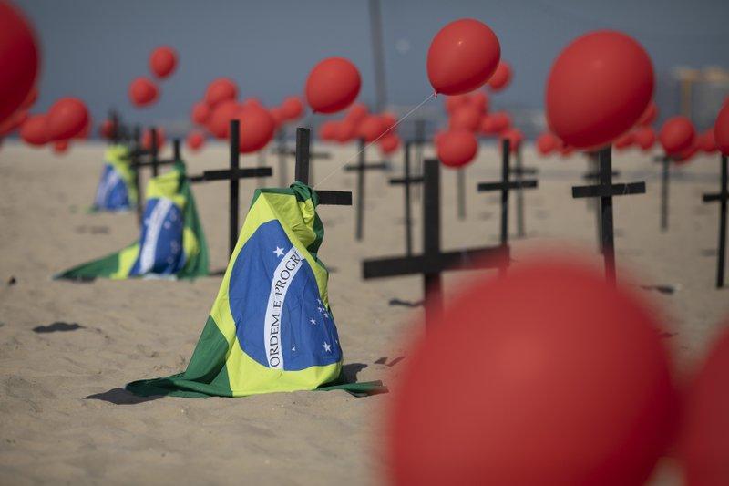 Brasil supera los 4 millones de contagios de coronavirus en total