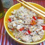 Receta de Chow fan de pollo