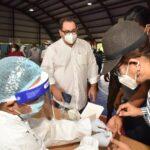 Director del SNS encabeza operativo de pruebas rápidas y PCR en Bahoruco