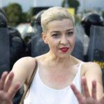 Familia de la opositora bielorrusa María Kolésnikova denuncia su desaparición a la Policía
