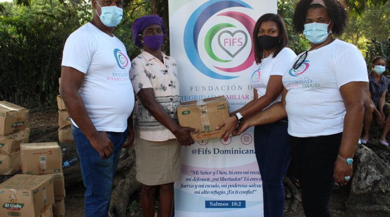 Fundación FIFS entrega raciones alimenticias crudas a más de 400 familias