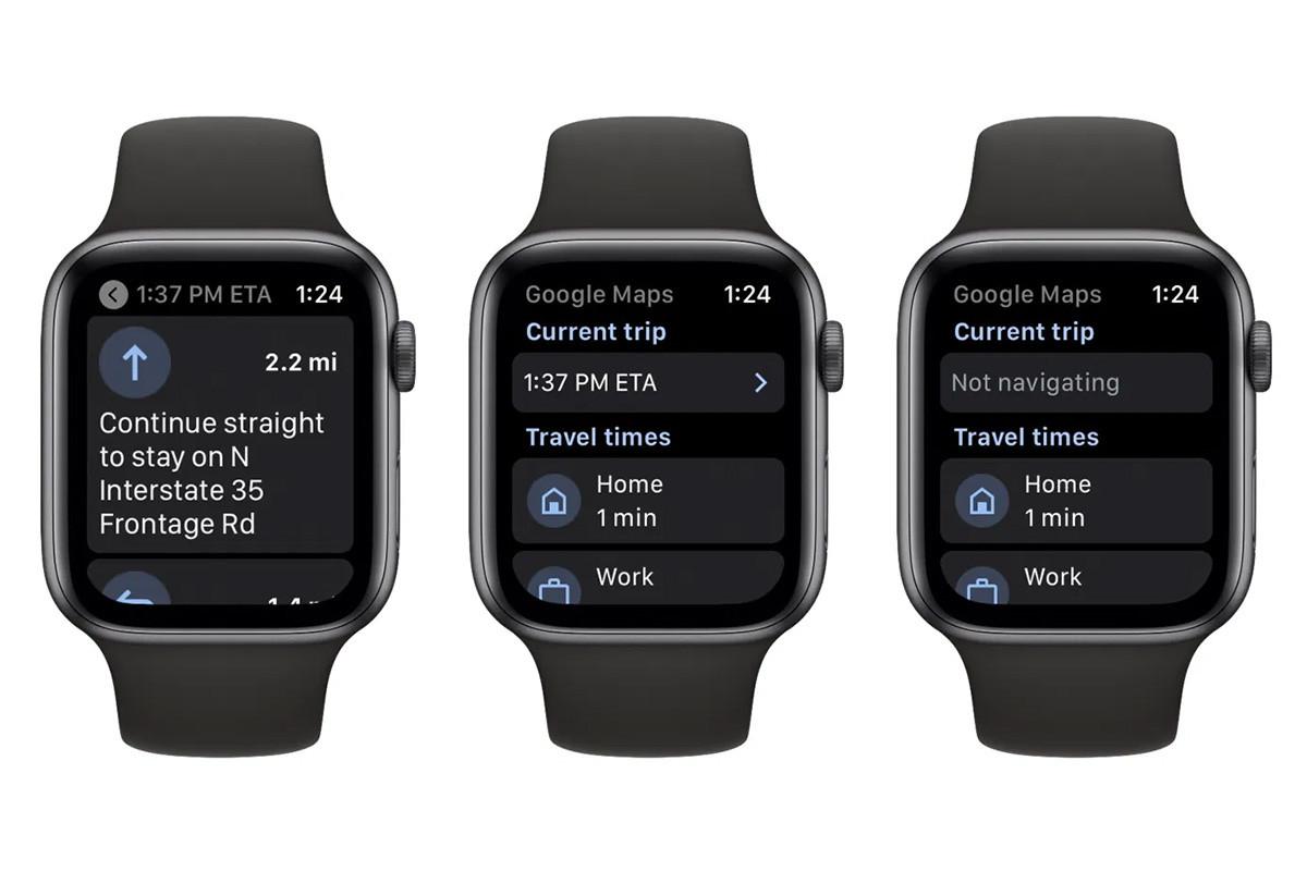Google Maps ya se puede consultar desde un Apple Watch