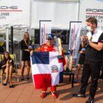 Jimmy Llibre vuelve hacer historia ganando la tercera carrera del campeonato Porsche Central Europe