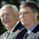 """La conmovedora carta de despedida de Bill Gates a su padre: """"Él era todo lo que intento ser"""""""