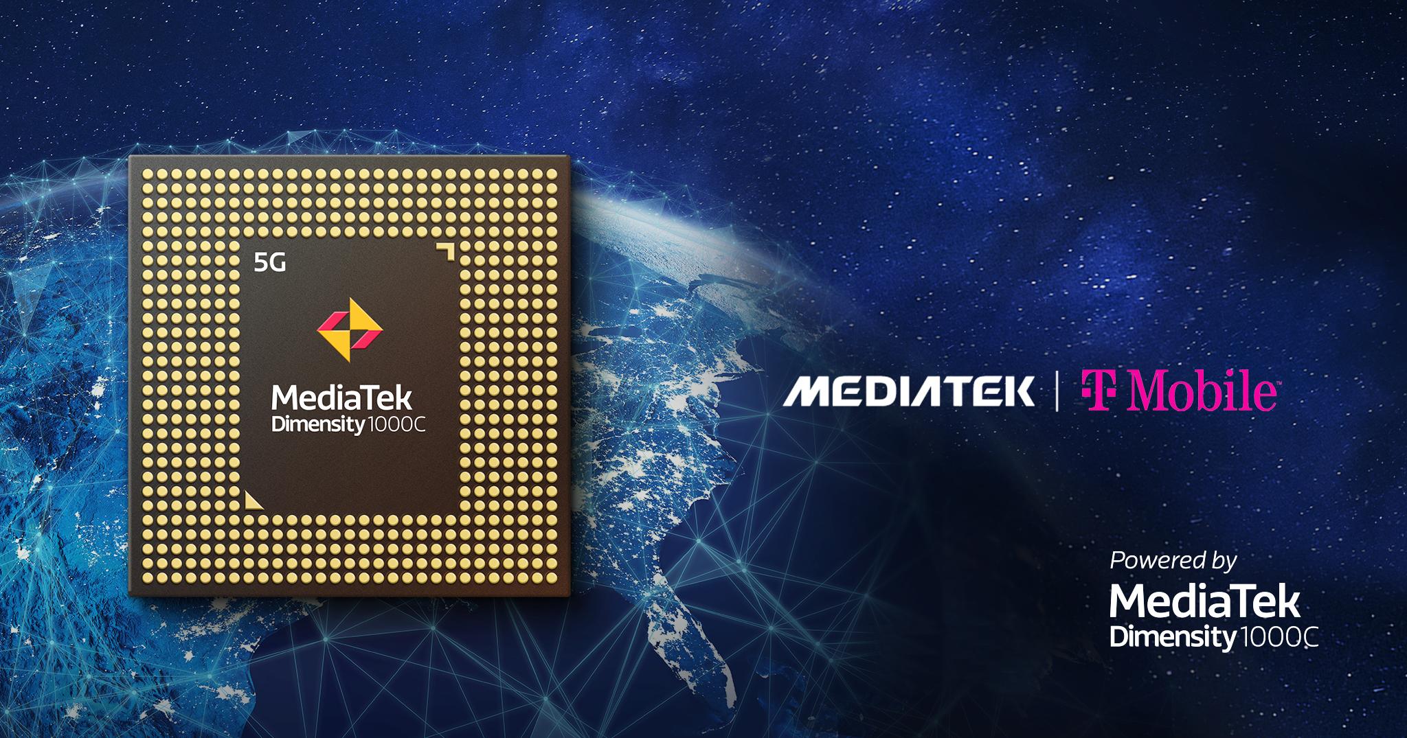 MediaTek presenta el chipset Dimensity 5G en su primer teléfono inteligente 5G en los Estados Unidos