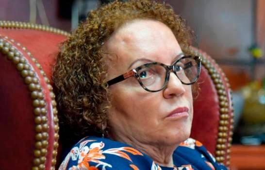 """Miriam Germán sobre declaraciones de bienes: """"Hay unos incrementos que a cualquiera lo asombran"""""""