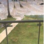 El mar entra a propiedades turísticas de Las Terrenas, Samaná entra a propiedades turísticas de Las Terrenas, Samaná