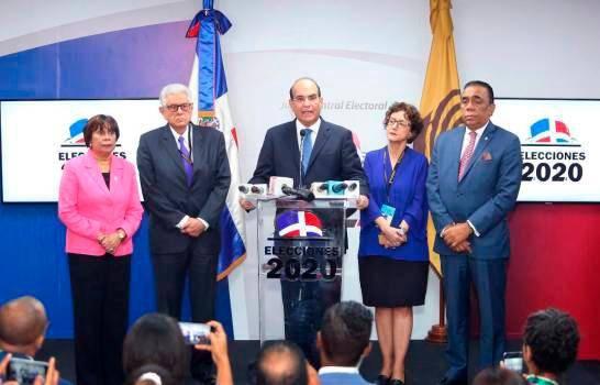 La JCE presenta presupuesto para 2021 por más de 7 mil millones de pesos