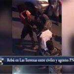 Pleito entre militares y civiles que violaban toque de queda