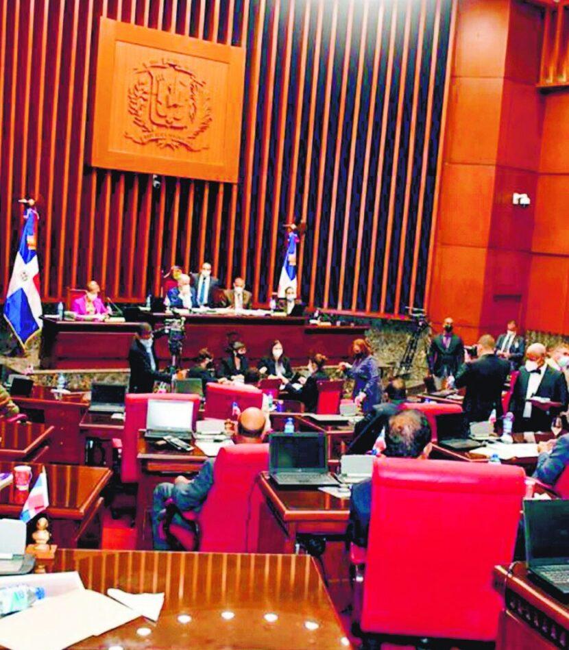 Inscripción aspirantes a la JCE tuvo problemas en el Senado