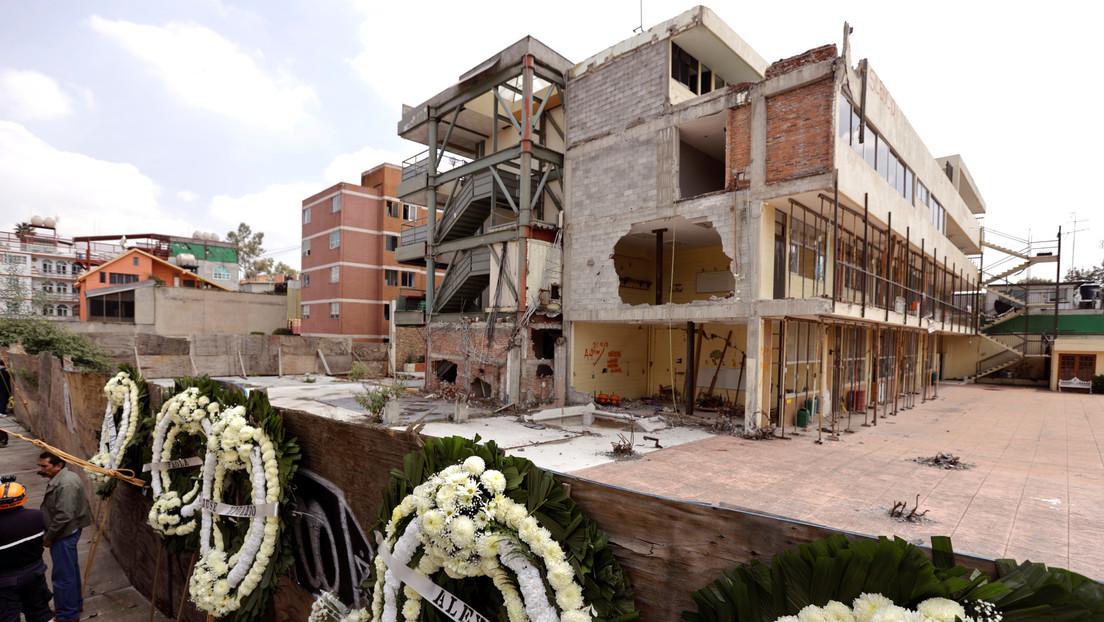 Un juez mexicano declara culpable de homicidio a la directora de colegio donde murieron 19 niños tras el sismo de 2017