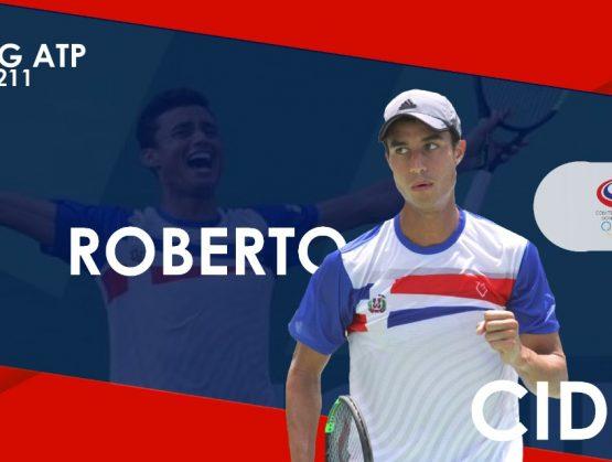 Tenista Roberto Cid se prepara para el Roland Garros