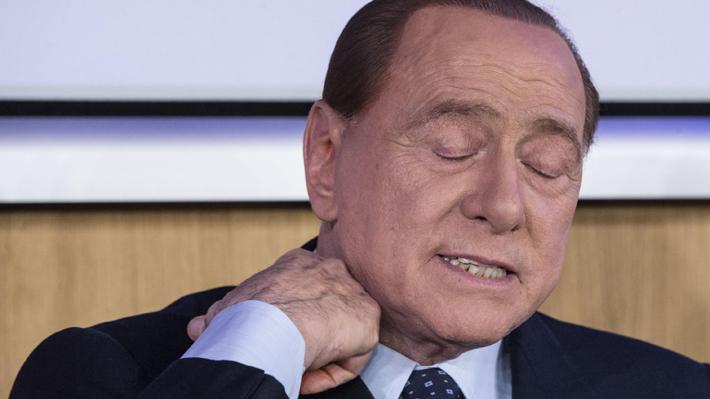 "Berlusconi hospitalizado ""por precaución"" por coronavirus en Italia"