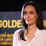 El noble gesto de Angelina Jolie con dos niños que que venden limonada