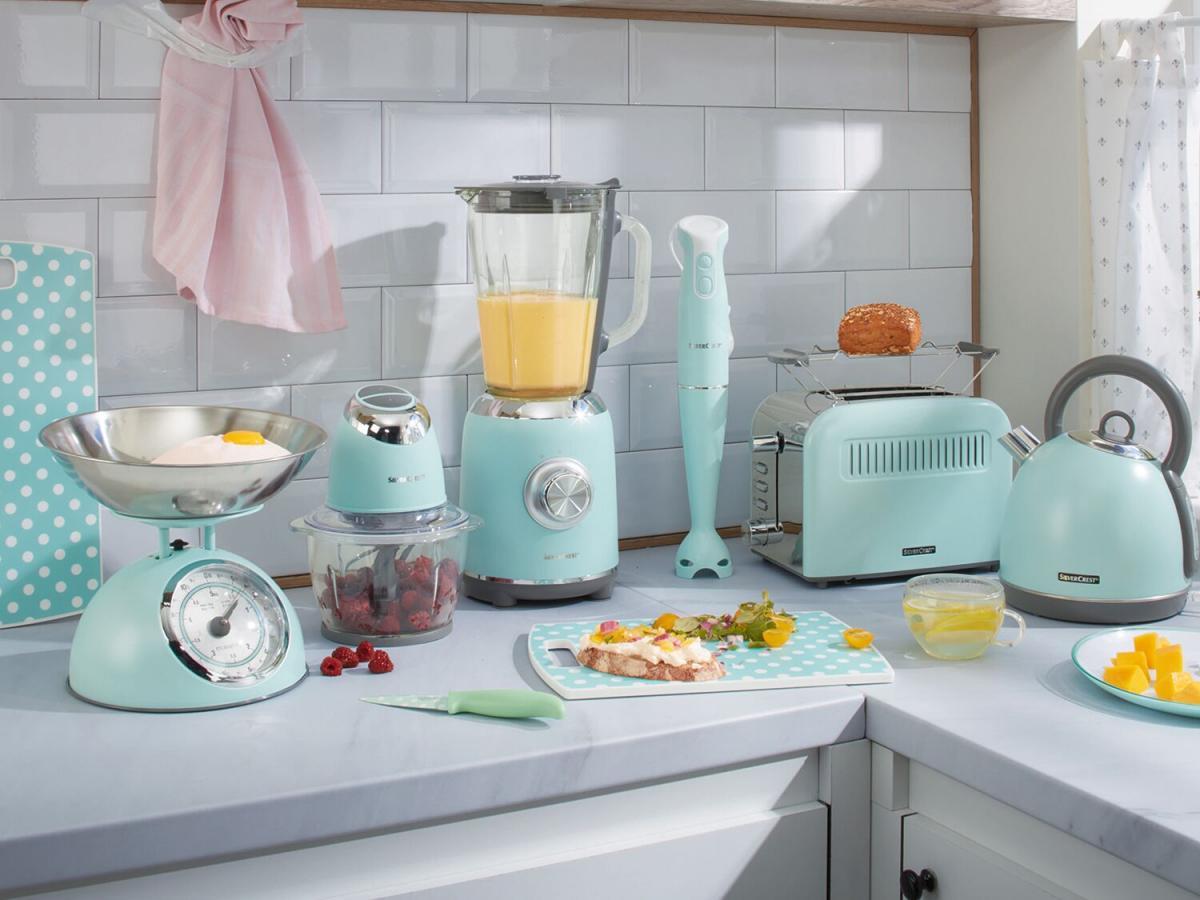 Lidl lanza una colección de electrodomésticos de estilo vintage a precio de derribo