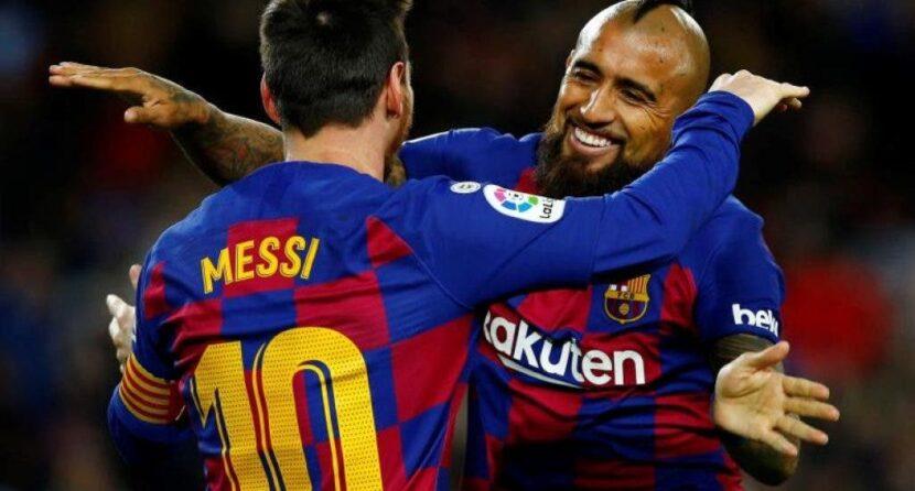 """Messi a Arturo Vidal: """"El vestuario te va a extrañar"""""""