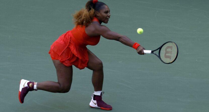 Serena clasifica a octavos de final y se enfrentará a Sakkari