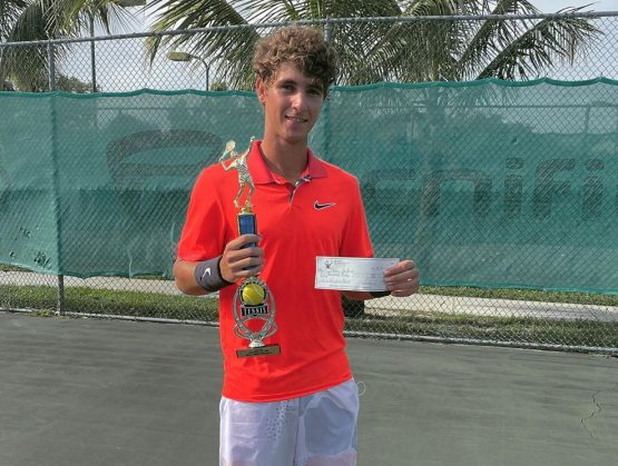 Peter Bertran campeón del Delray Prize Money Open de Tenis