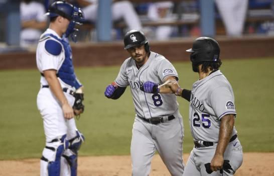 Rockies se imponen a los Dodgers con jonrón de Matt Kemp