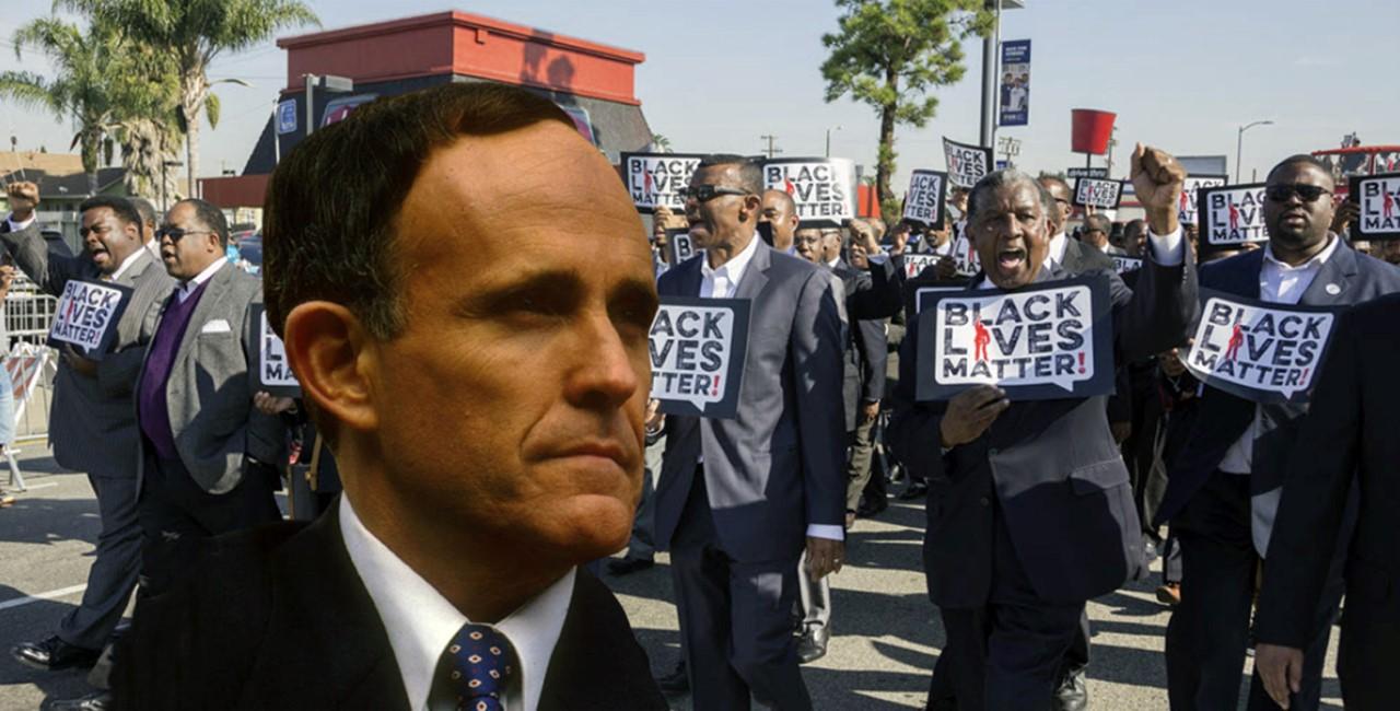 Ex alcalde Guiliani califica a líderes y militantes de Black Lives Matter como asesinos de policías