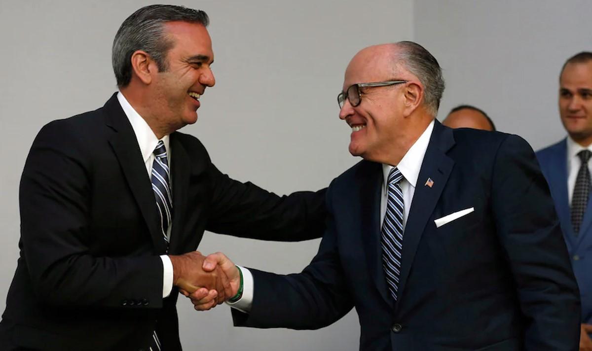 Guiliani entregó recomendaciones como consultor en seguridad de Abinader para combatir delincuencia en República Dominicana