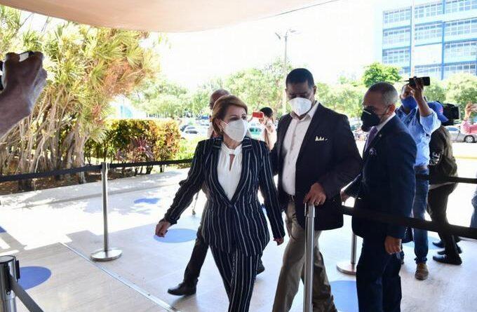 """Lucía Medina dice que la trataron """"muy bien"""" en el interrogatorio del Pepca"""