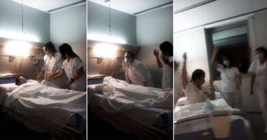 """""""Se burlan de los muertos"""": Empleadas de un hospital en España bailan tras fingir que fallece un paciente"""