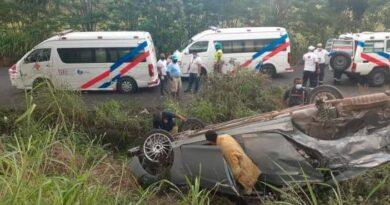 Accidente en la carretera Mella deja dos muertos e igual número de heridos