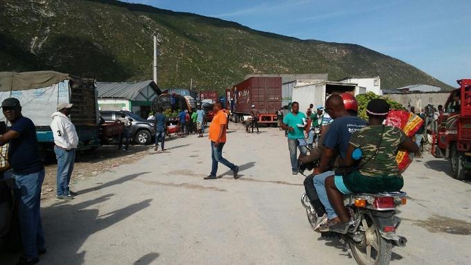 ALERTA :Conflictos en frontera: patanas RD no pueden entrar a Haití