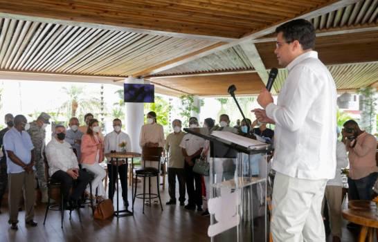 Ministro de Turismo David Collado encabeza reapertura del hotel Dreams Dominicus La Romana