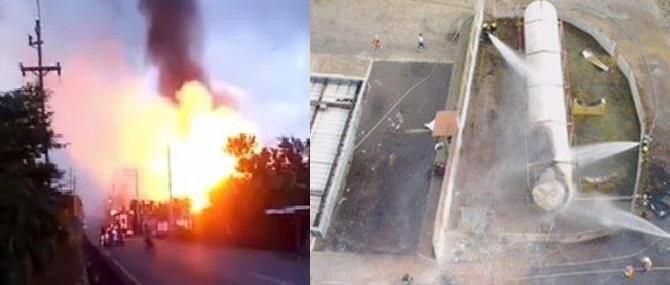 ATENCIÓN: Se elevan a ocho los muertos por explosión en envasadora de gas