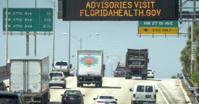 Miami advierte de alza en COVID-19 y pelea para volver al toque de queda