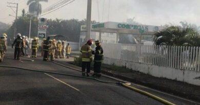 Ministerio Público investiga explosión de planta de gas en Licey al Medio