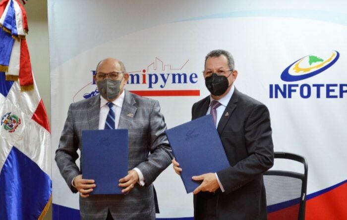 PROMIPYME e INFOTEP implementarán programa de asistencia técnica y capacitación a empresas beneficiadas con créditos