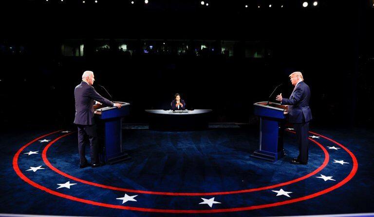 Coronavirus, China y cambio climático: los mejores momentos del debate final entre Trump y Biden