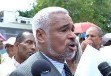 Radhamés Camacho niega a hablar sobre declaración jurada