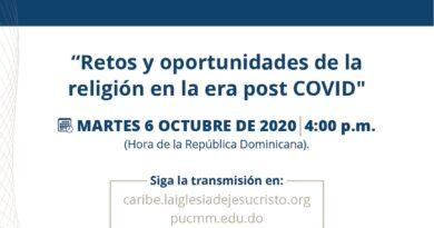 """Simposio internacional abordará """"Retos y oportunidades de la religión en la era post COVID"""""""