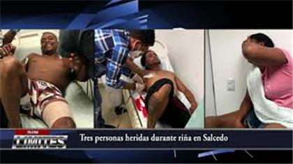 Tres personas resultan heridos en medio de una riña en Tenares