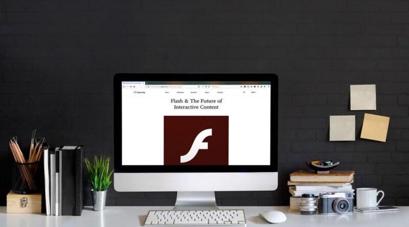 Adobe Flash muere definitivamente este año y Microsot ya prepara su funeral
