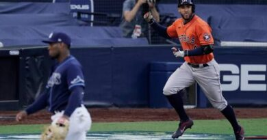Astros fuerzan séptimo partido ante Rays en playoffs de Grandes Ligas