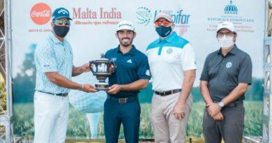 José Guerra es el gran campeón los Campeonatos Nacionales de Golf