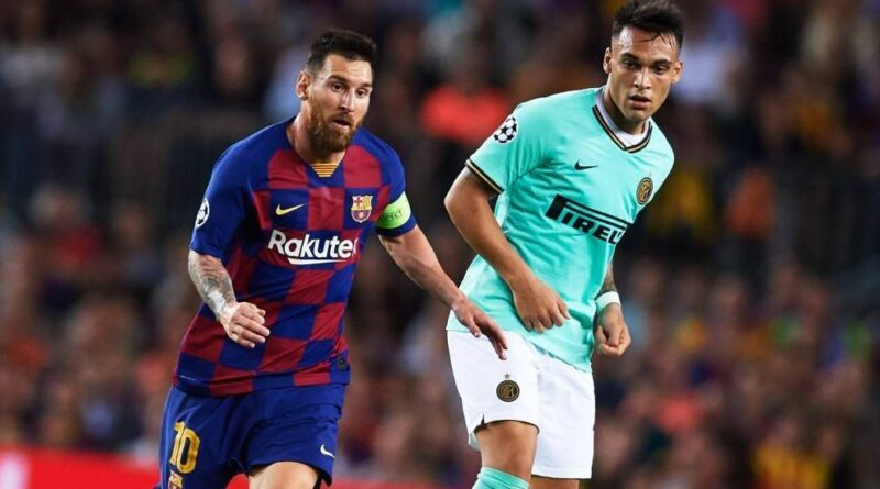"""Lautaro Martínez: """"Lionel Messi está en otro nivel"""""""