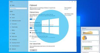 Portapapeles en la nube de Windows 10 será compatible con todos los teléfonos Android
