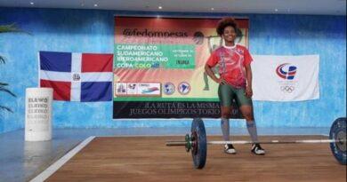 RD obtiene cinco medallas en campeonato virtual de halterofilia
