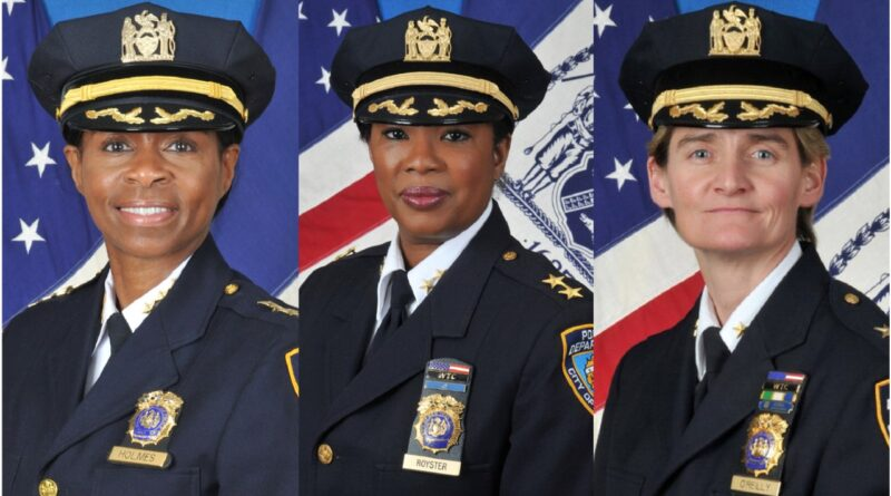 Ascensos de tres mujeres en altos mandos marca hito en equidad de género en la policía de Nueva York