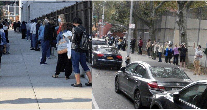 Cientos de votantes dominicanos sufragan en elecciones tempranas en condados de Nueva York