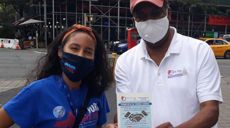 Dominicanos en el Alto Manhattan y El Bronx lideran porcentajes en respuesta al Censo 2020 por campaña de DUSA