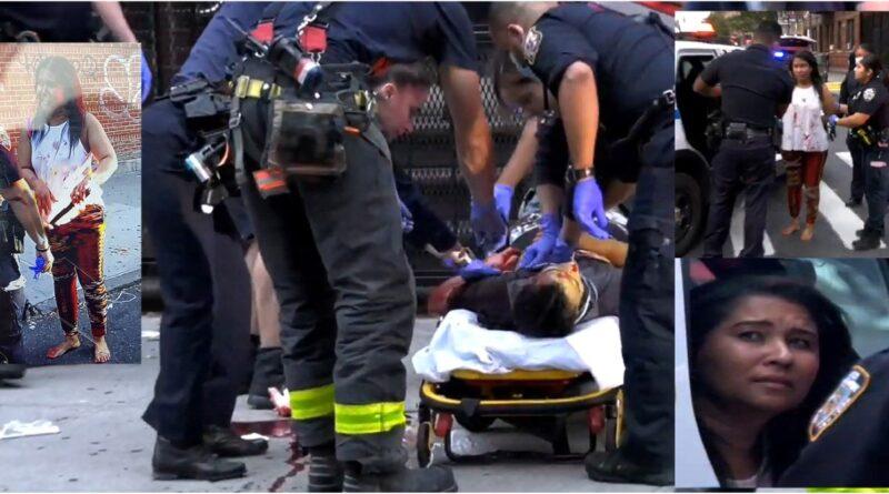 Hispana asesina pareja en edificio de El Bronx alegando defensa propia y arrastra cadáver a la calle