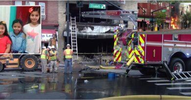 Tres niñas y una mujer hispanas mueren en voraz incendio originado en mueblería de Nueva Jersey